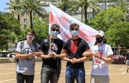 В Израиле прошла третья акция солидарности с Беларусью