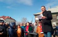 В Хабаровске жители бараков просят у Трампа помощи