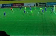 На матче «Шахтер» – БАТЭ болельщики скандировали «Жыве Беларусь!»