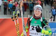 Дарья Блашко выиграла спринтерскую гонку чемпионата Украины