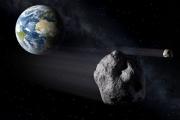 С помощью телескопов сняли видео пролетевшего мимо Земли изюмовидного астероида