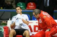 Белорусские теннисисты вышли вперед в матче Кубка Дэвиса с молдованами