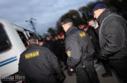 Милиционера избили прямо в центре Минска
