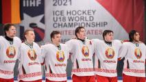 Сборная Беларуси на ЧМ проиграла Швейцарии со счетом 0:6