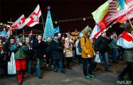 Яркие фотографии с массовой акции против интеграции с РФ