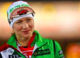 Домрачева выиграла гонку преследования в Ханты-Мансийске