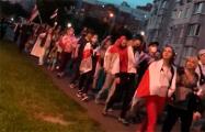 «Пока мы едины, мы непобедимы!»: Мощное шествие в минском Сухарево