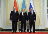 Двусторонней встречи Путина и Лукашенко в Астане не было