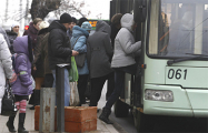 В центре Минска стали троллейбусы