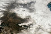 В таянии ледников Гренландии обвинили пепел и сажу из России