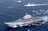 Первый китайский авианосец вышел на ходовые испытания