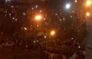 В центре Минска начали возводить баррикады
