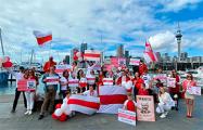 Белорусов поддержали в Новой Зеландии