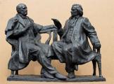 Фотофакт: в Минске поставят памятник Монюшко и Дунину-Марцинкевичу
