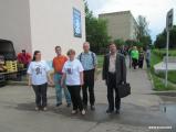 Активисты БХД прошлись по Бобруйску с портретами политзаключенных