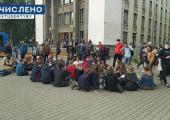 В столичных вузах прошли акции в поддержку задержанных студентов