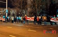 Жители Малиновки выстроились в длинную цепь солидарности