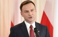 Анджей Дуда обратился к США и ООН по судьбе поляков в Беларуси