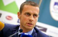Новым президентом УЕФА избран словенец Александер Чеферин