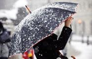 Минск этой ночью: горожане встречают снег