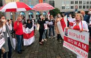 Пятрас Ауштрявичюс: Мы вышли на акцию, чтобы ЕС не ждал с реакцией на происходящее в Беларуси