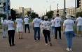 Минчане вышли на смелую акцию солидарности