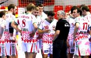 ЧЕ-2020 гандбол: белорусы выигрывают у черногорцев 6 мячей после первого тайма