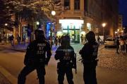 В массовой драке в Германии пострадали 15 полицейских