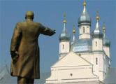 В Слониме демонтировали памятник Ленину
