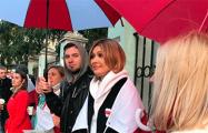 Белорусы Москвы поздравили с днем рождения Анжелику Агурбаш