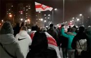 В минском Уручье прошлись шествием по военному городку