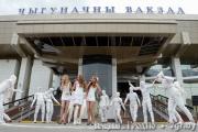 Мумии «терроризировали» посетителей гродненского вокзала