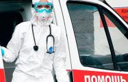 Фотофакт: К дому в Минске «скорые» приезжали два раза за час