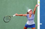Саснович вышла во второй круг квалификации теннисного турнира в Мадриде
