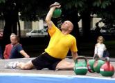 Вячеслав Хоронеко установил рекорд в поднятии тяжестей
