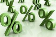Ставка рефинансирования снижается до 38%