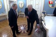 Эйсмонт рассказала о суперэлитных подарках Лукашенко Путину