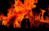 В Быхове на территории бывшей воинской части сгорели два человека