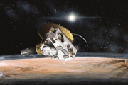 НАСА показало видео пролета New Horizons над горами Хиллари на Плутоне