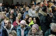 Фотофакт: Сотни минчан шокировали чиновников своей активностью