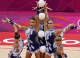 Гимнастки завоевали 13-ю медаль Олимпиады - «серебро»
