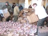 В Бресте с тонной контрабандного мяса задержан украинец