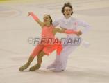 Кристина Захаренко заняла 29-е место в короткой программе на юниорском чемпионате мира по фигурному катанию в Минске