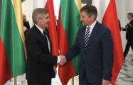 В Варшаве состоялась встреча спикеров сеймов Польши и Литвы