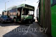 В Минске столкнулись маршрутка и легковой автомобиль, есть пострадавшие