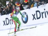 Дарья Домрачева завоевала серебро в спринте на чемпионате мира по биатлону в германском Рупольдинге (ФОТО)