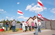 Пинчанин отнес продукты защитникам Куропат – и стал «героем дня» на родине