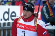Сергей Новиков занял 25-е место в гонке преследования на чемпионате мира по биатлону