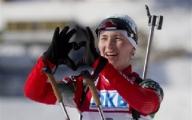 Домрачева выиграла золото!