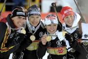Команда Беларуси заняла 4-е место в женской эстафете на чемпионате мира по биатлону